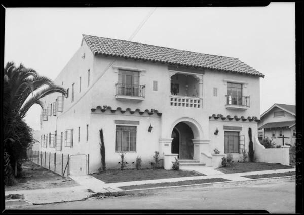 2757 Fairmont, Southern California, 1929
