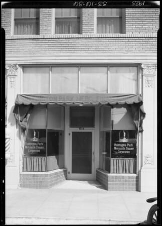 Huntington Park Office, Founders Finance & Discount Corporation, Huntington Park, CA, 1925