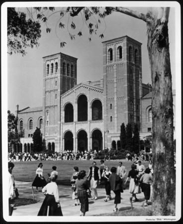 University of California at Los Angeles's (UCLA's) Royce Hall