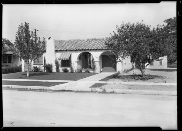 Movie studios & homes near Universal City, Los Angeles, CA, 1928