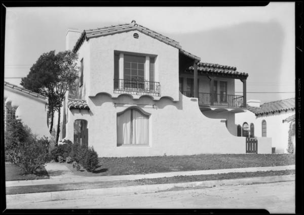 1029 South Curson Avenue, Los Angeles, CA, 1931