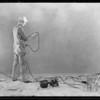 Catalogue shots at studio, Crown Spray Gun, Southern California, 1929