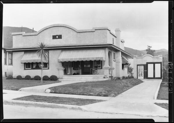1426 North Pacific Avenue, Glendale, CA, 1929
