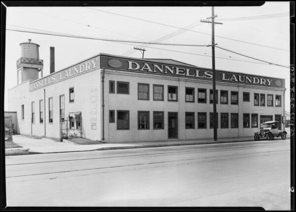Dannell's Laundry, Southern California, 1928