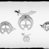 Shriner's Emblems, Papier Maché Specialty Co., Southern California, 1925