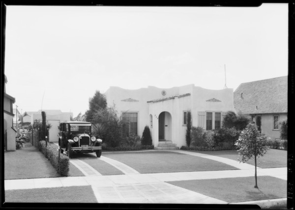 304 East Fairview Boulevard, Inglewood, CA, 1927