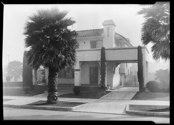 730 4th Street, Santa Monica, CA, 1929