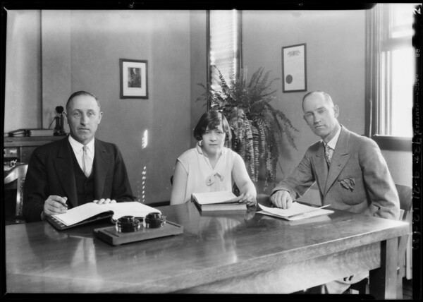 J.M. Fisher offices, 123 South Vermont Avenue, Los Angeles, CA, 1928