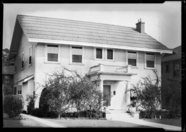 936 North Edgemont Street, Los Angeles, CA, 1928