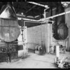 Views of plant, McClure's winery, Burbank, CA, 1931