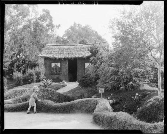 Tool House - Exposition Park, Los Angeles, 1924