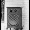Small radio, Atwater Kent Radio, Southern California, 1928