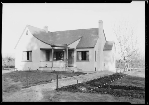 F. Jr Eddy residence, Van Nuys, Southern California, 1928