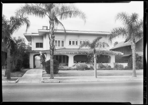 2211 South Hobart Boulevard, Los Angeles, CA, 1928