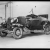 Wrecked Ford, Auto Club of Southern California, Southern California, 1931