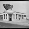 Citizens Trust and Savings Bank, West Pico Boulevard and South Swall Drive branch, Los Angeles, CA, 1928