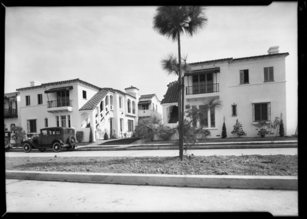 Apartments in Leimert Park, Los Angeles, CA, 1931