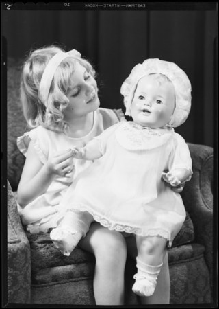 Doll & Mary Alice Bayes, Southern California, 1931