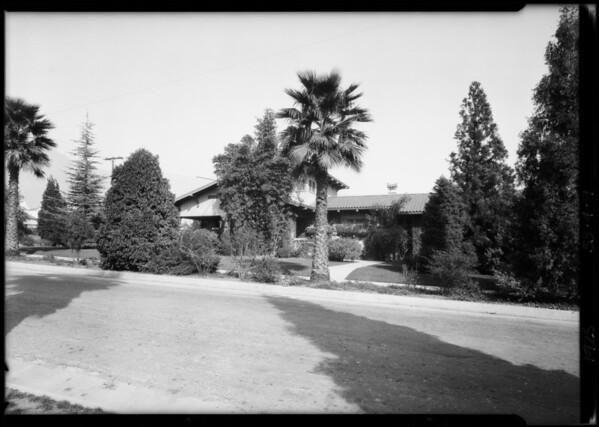 Southeast corner of Mar Vista and Albany, Altadena, CA, 1925