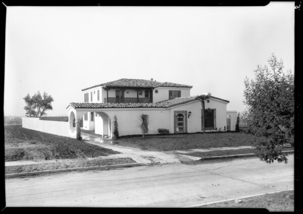 New homes completed, Southern California, 1928