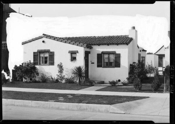 6205 South Figueroa Street, Los Angeles, CA, 1928