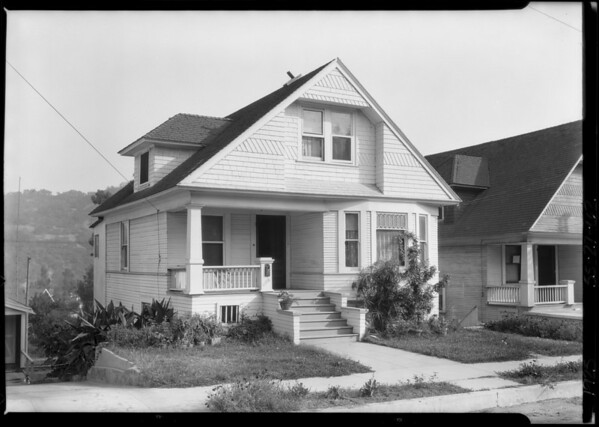 5528 Echo Street, Highland Park, Los Angeles, CA, 1925
