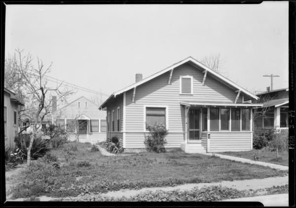 11423 & 11425 Ohio Street, Sawtelle, Southern California, 1928