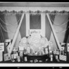 Window display, Colgate-Palmolive-Peet Co., Southern California, 1931