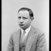 Mr. S. Lindenbaum, Leimert Park, Southern California, 1928