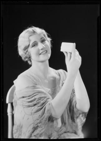 Bar of soap (Volta Boyer), Southern California, 1930