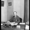 Mr. W.E. Avery McCarthy, Southern California, 1929