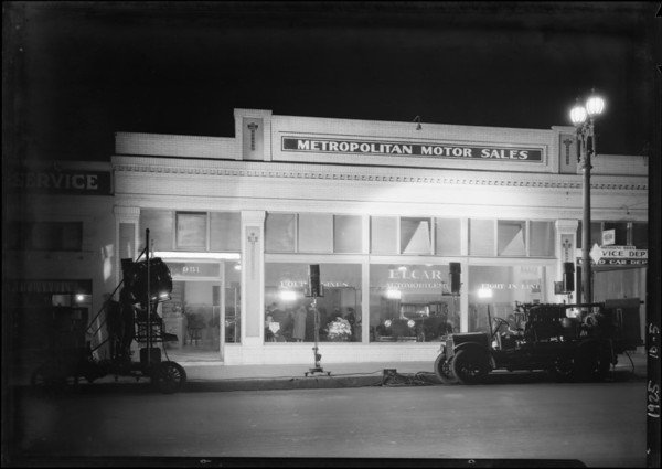 Opening, Elcar Motor Company, 951 South Flower Street, Los Angeles, CA, 1925