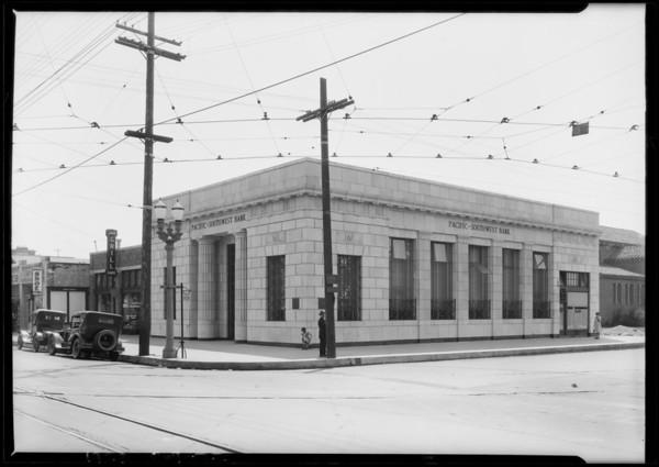 Property at University Avenue & West Jefferson Boulevard, Los Angeles, CA., 1925