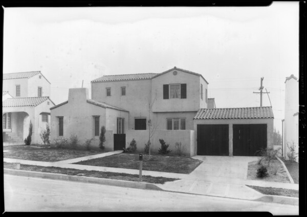 House at 1414 El Miradero Avenue, Glendale, CA, 1928
