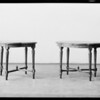 End tables, coffee tables, etc., Murdock & Wilcek, Southern California, 1931