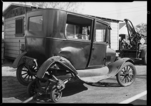 Clara Street and Atlantic Avenue, Cudahy, CA, 1929
