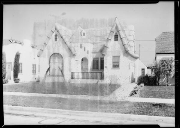 2440 South Cloverdale Avenue, Los Angeles, CA, 1929