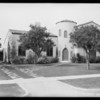 5 homes at San Marino, CA, 1928