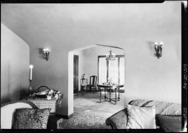 Fowe-Pettibone houses, Southern California, 1925