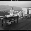 Roof of Maryland Hotel, Pasadena, CA, 1931