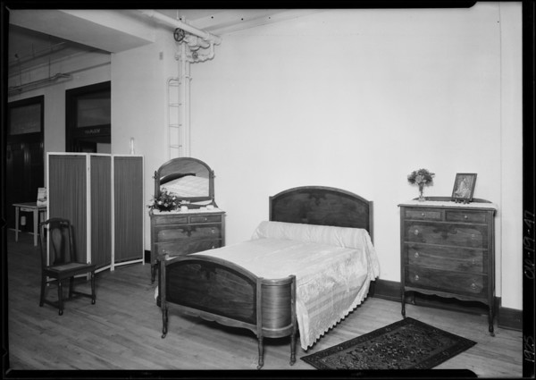 Bedroom Suite, Broadway Department Store, Los Angeles, CA, 1925