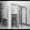 Work at County Hospital, Metal Door & Trim Co., Los Angeles, CA, 1931