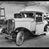 Marquette coupe, American Auto Insurance Co., Southern California, 1931