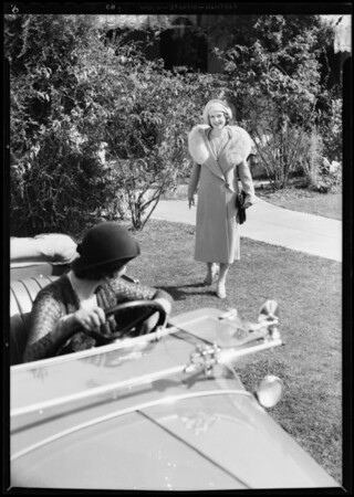 'Come out of the kitchen', Southern California, 1931