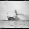 Battleship Colorado at San Pedro, Los Angeles, CA, 1929