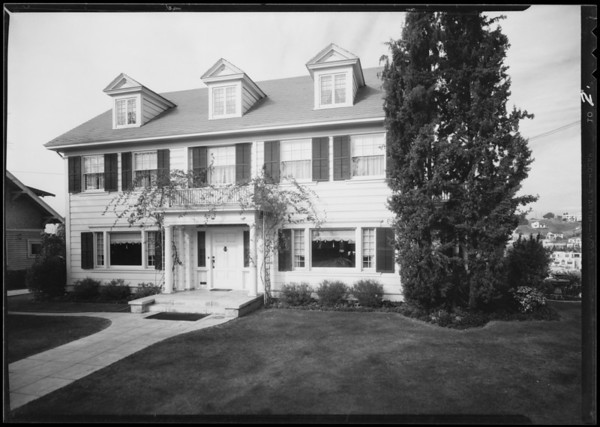 House at 815 North Occidental Boulevard, Los Angeles, CA, 1930