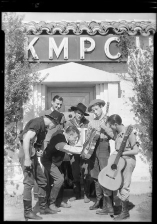 'Hayseed' orchestra, Southern California, 1931