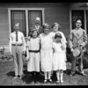 Temple, Mr. Joe Cantin, Temple City, CA, 1925