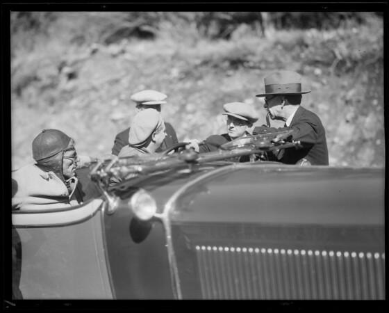 Erskine Mount Baldy run, Whittington, Southern California, 1930