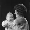 Mother & baby (Ruth Izor & Marylyn), Southern California, 1931